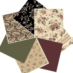 Fat Quarter Bundle - Country French No.1