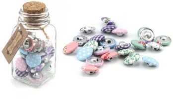 Covered Buttons - Craft Jar