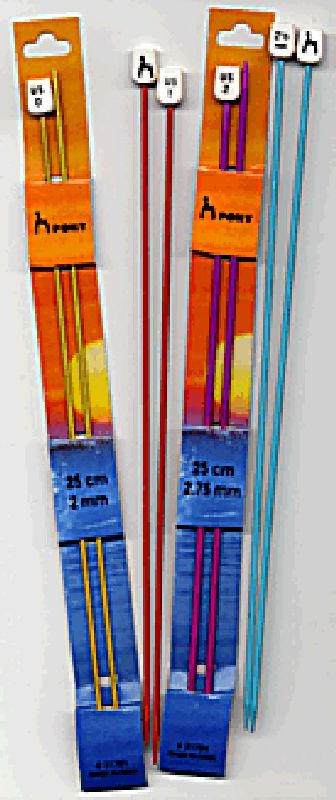 Pony Anodized Knitting Needles - 35cm