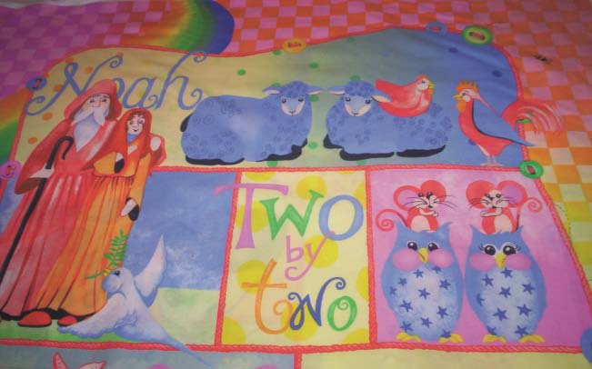 Fabric - Two by Two (SP001C) - Panel